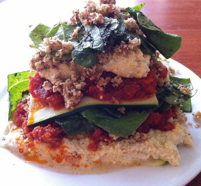 283 best dehydrated food images on pinterest raw recipes raw lasagna no dehydrator required forumfinder Images