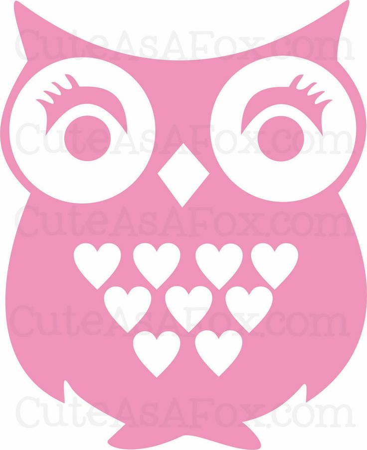 Cute As a Fox: Owl you need is love - Heart Owl with Free Download