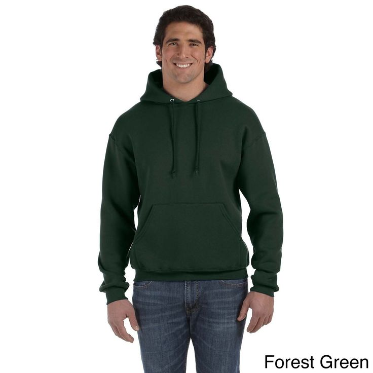 Fruit of the Loom Men's Supercotton 70/30 Pullover Hoodie