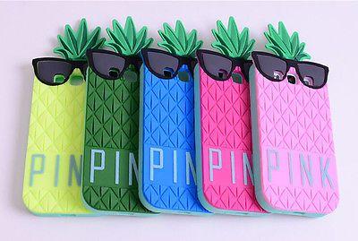 3D Victoria Secret Pink Pineapple Soft Case for Samsung Galaxy S3 S4 i9300 I9500   eBay