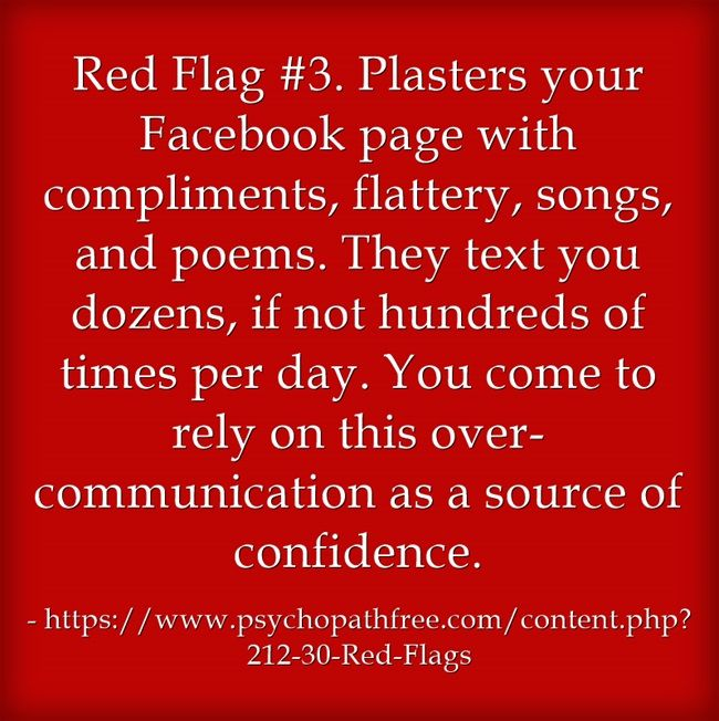 Aluminum and Flags A Red Your Narcissist Dating sooner