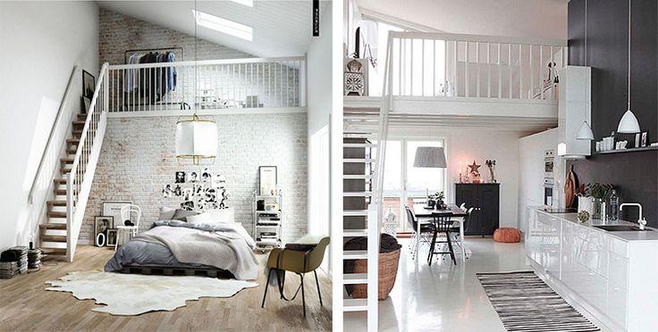Warmte creëren in een interieur met een hoog plafond