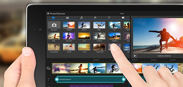PowerDirector For Android & Windows 8 Tablets