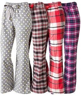 Sonoma Women's Flannel Pajama Pants #flannelpajamasforwomen
