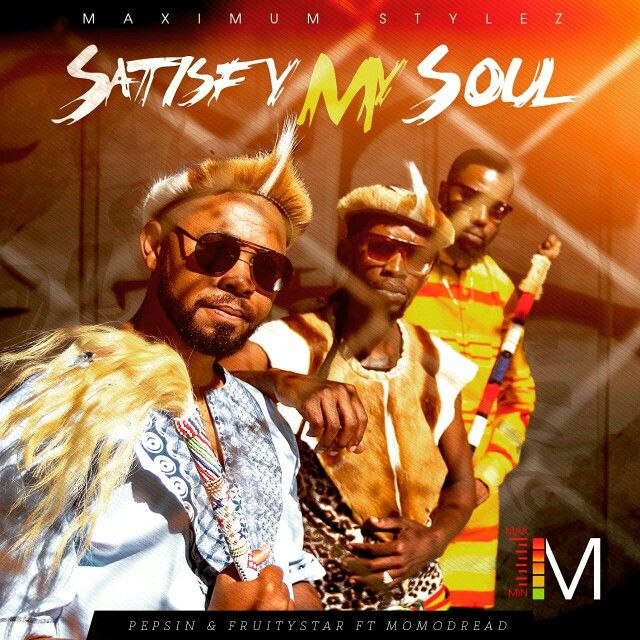 New music dropping soon. #SATISFY_MY_SOUL By Myself & Pepsin Ft Momo Dread #Dancehall_Reggae_Warriors #Proudly_South_African Maximum Styelz Records to de level dem cyant screw (((KABOOOM)))
