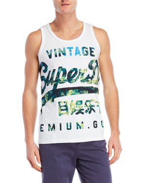 Vintage Graphic Muscle Tank