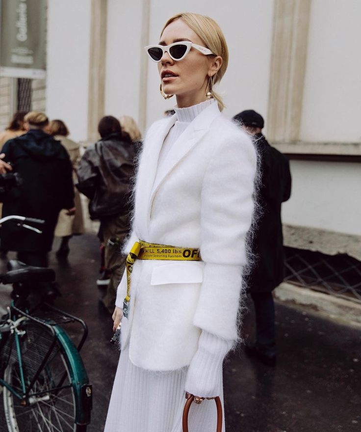 """2,686 Likes, 55 Comments - Viktoria Rader (@vikyandthekid) on Instagram: """"Snow flake after @tods show in Milano .. 