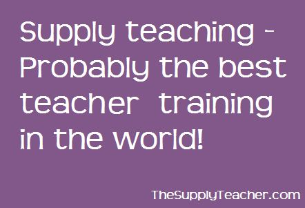 how to become a supply teacher uk