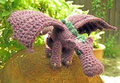 Fierce Little Dragon by Lucy Ravenscar  free download on ravelry