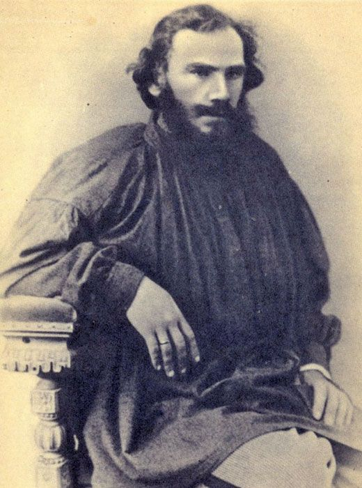 """""""There is no greatness where there is no simplicity, goodness and truth."""" / Tolstoy, 1868"""