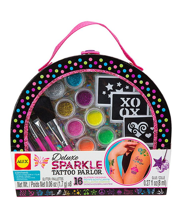 Look at this Deluxe Sparkle Tattoo Parlor Set on #zulily today!