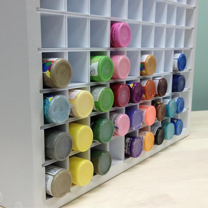 The 25 Best Acrylic Paint Storage Ideas On Pinterest Organization And Craft