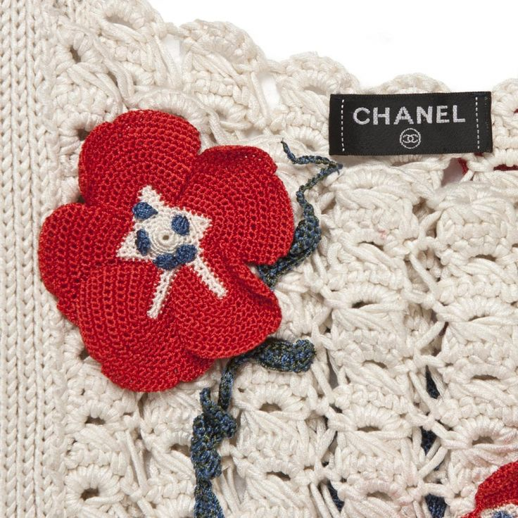 62 best Chanel crochet cardigan images on Pinterest | Chanel jacke ...