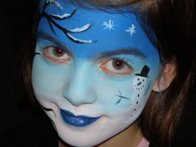 Face Paint,Face Painting Tips: Christmas Face Painting