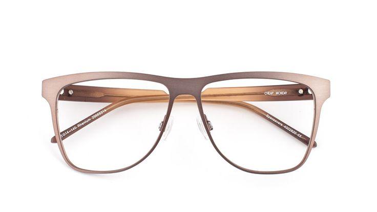 Cheap Monday glasögonbåge – RHENIUM
