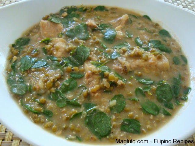 Kusina Master Asian Recipes: Ginisang Munggo (Sautéed Mung Beans)