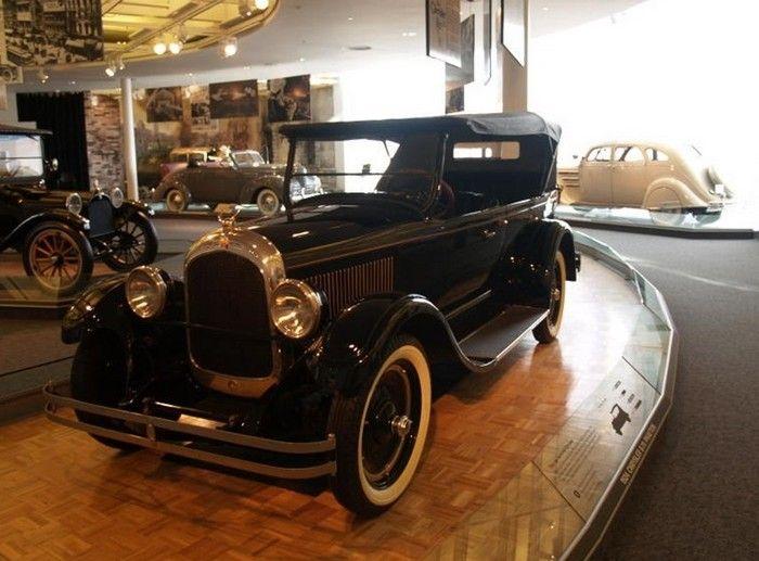 Rare Cars-1924 Chrysler Model B Phaeton.