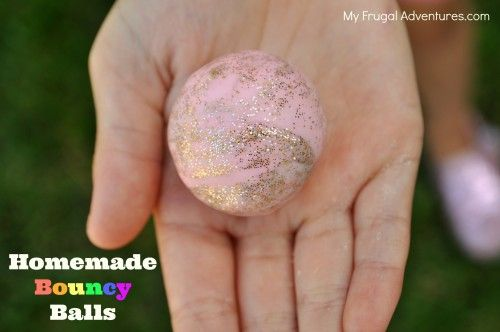 How to make bouncy balls for kids (that really bounce!)
