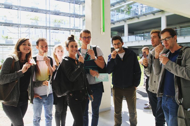 Dégustation à l'Université de Bordeaux. #fernandetpaulette #baraglace #bar #event #salon #entreprise #granitébio #cocktail #apéritif #animation #stand #bordeaux #iae #université #portesouvertes #dégustation #étudiants