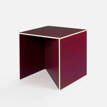 Best Donald Judd Images On Pinterest Donald Oconnor Colors - Colorful judd side table with different variations