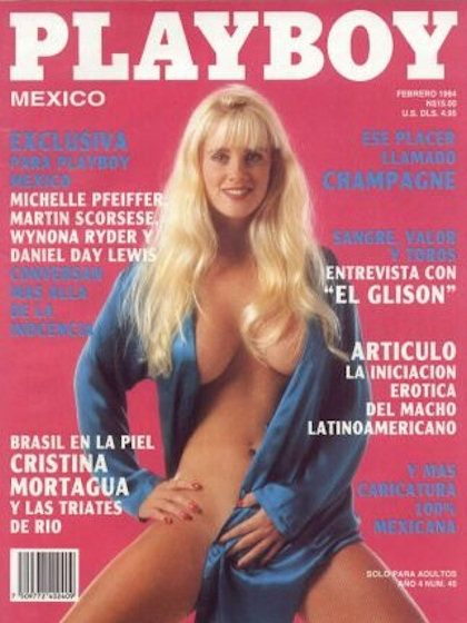 Playboy (Mexico) February 1994  with Jenny McCarthy on the cover of the magazine