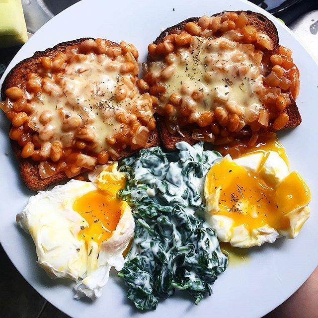 Reposting @fruiteatox: Anyone else breakfasting in bed this morn/lunchtime? Here's some weekend brunch inspo 📸 : @vintagelovingslimmer: Big Syn Free Brekkie😍🙌🏼 2 slices of cheesy beans and onions on toast (HexB & half HexA), with 2 poached eggs and creamy spinach (other half HexA)✨ Totalling 504 calories for the whole plate and 2 of your 5 a day!👍🏼 #slimmingworld #slimming #slimmingworldfriends #health #healthy #healthyfood #healthylifestyle #lifestyle #food #foodie #foodblogger…