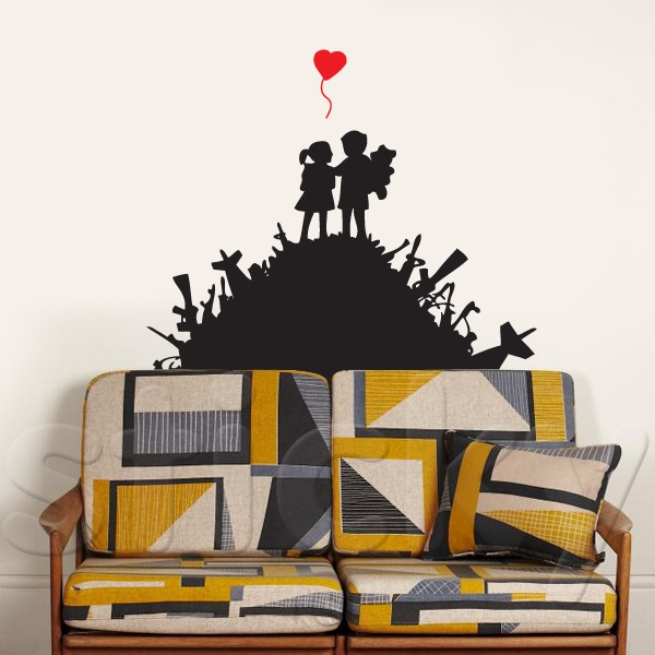Wall Sticker BANSKY1 by Sticky!!!