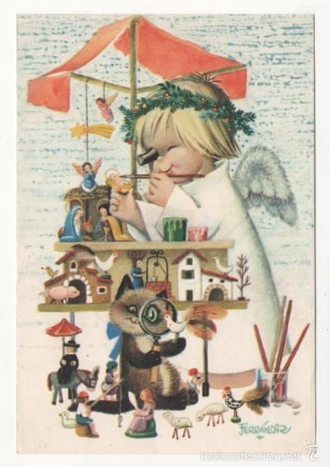 307 best Tarjetas ferrandiz Navidad images on Pinterest | Big eyes ...