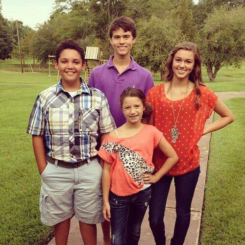Little Will, John Luke, Sadie, and Bella Robertson ...