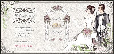 Feature Art Design: Wedding Collection is in stock now.