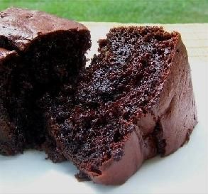 Triple Chocolate cake (boxed cake mix w/ chocolate chips, chocolate pudding and sour cream!)
