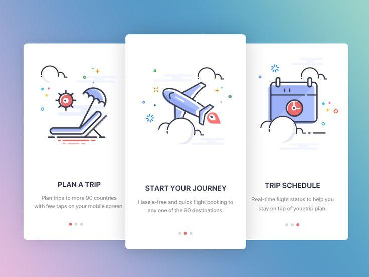 Onboarding Travel App
