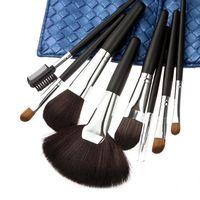 2014 CALIENTE !! Herramientas profesionales del 8 piezas pincel de maquillaje Set Maquillaje Toiletry Kit Wave Marca Maquillaje juego de brochas Caso envío libre