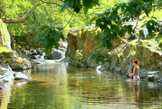 Galleny Force in the Lake District UK - paradise pool - Wild Swimming – outdoors in rivers, lakes and the sea