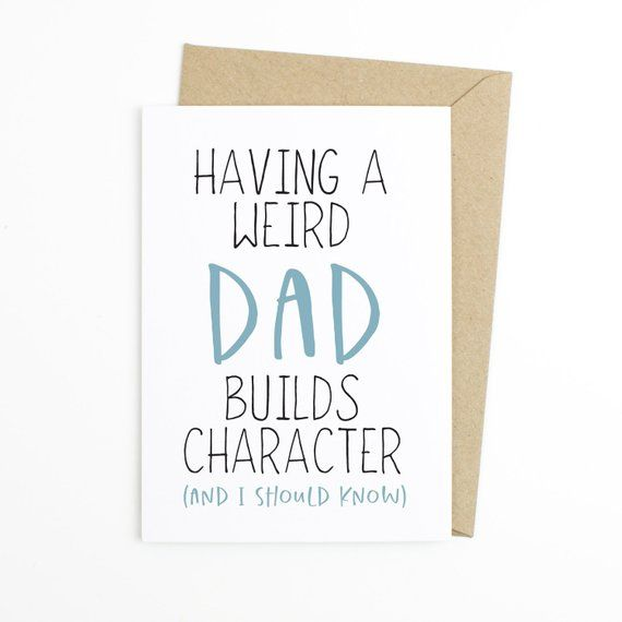 Funny Father S Day Card For Dad Birthday Card Dad Dad Card Best
