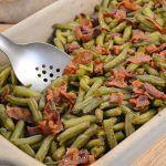 Arkansas Green Beans Recipe   Arkansas Bacon Green Beans