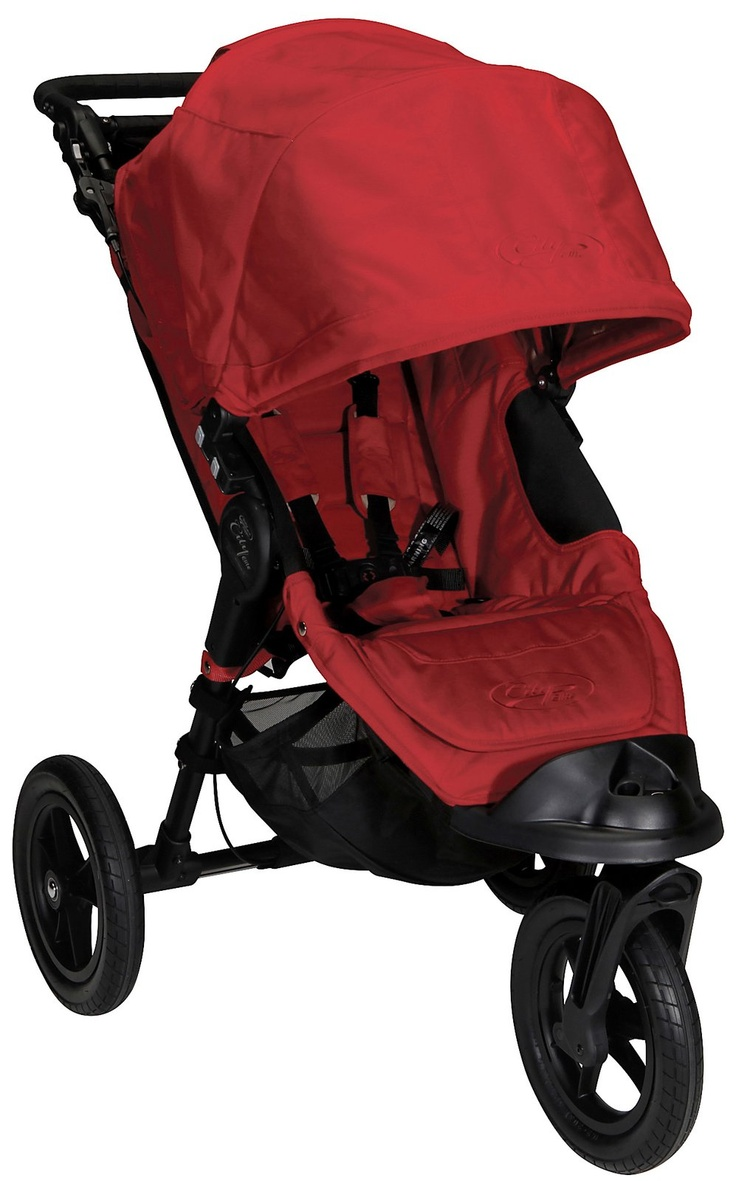 Baby Jogger City Elite Single Red foldable with one