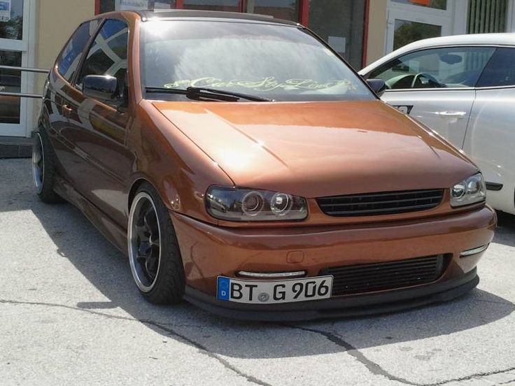 VW Polo 6N 1,8t 20V, love the colour!