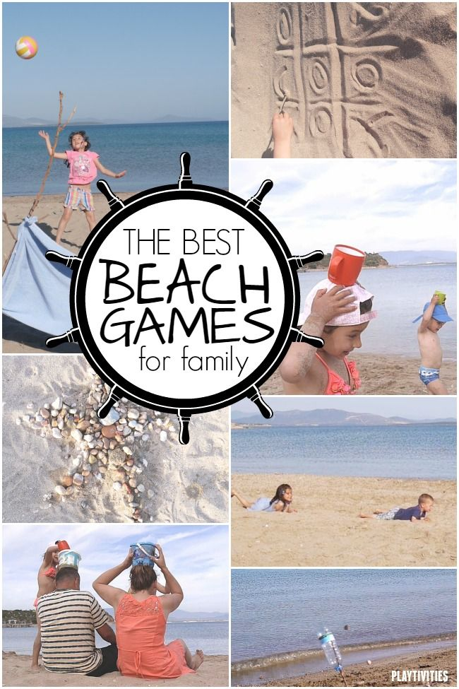 Best beach games for families