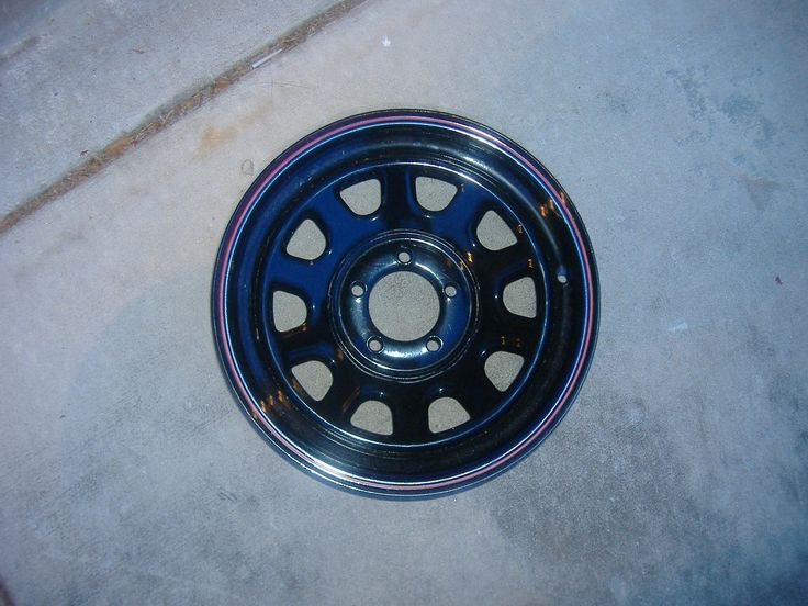 Black Steel Rims for Sale Find the Classic Rims of Your Dreams - www.allcarwheels.com