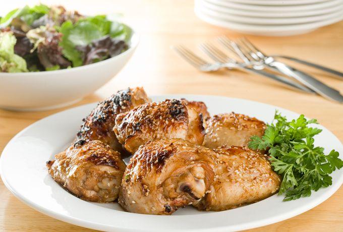 #SchoolYourChicken Recipes - Tipsy Teriyaki Barbecue Chicken » Chicken.ca