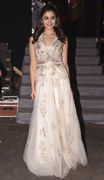 Alia Bhatt in an Anita Dongre outfit