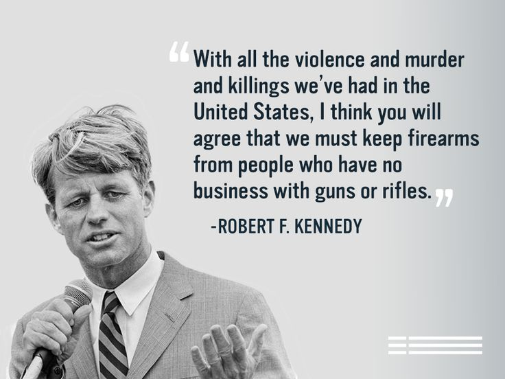 Robert Kennedy was assassinated 48 years ago today. Our country can't afford to continue losing our best and brightest to gun violence.