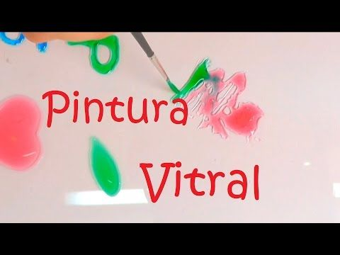 CÓMO HACER PINTURA VITRAL FÁCIL - YouTube