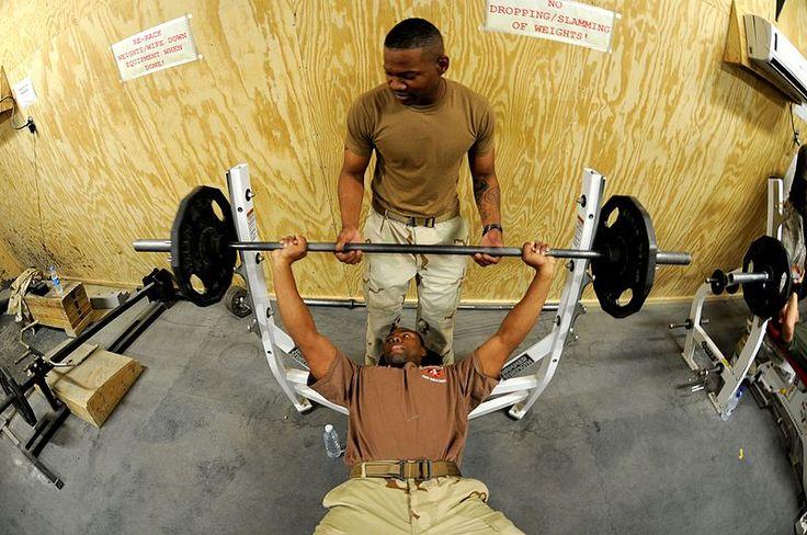 File:Workout session at Camp Leatherneck.jpg
