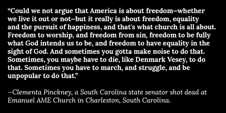 The words of Clementa Pinckney, one of those killed at the Emanuel AME Church in Charleston http://theatln.tc/1Lhl3Hu