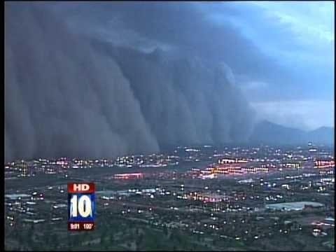 Massive dust storm hits Phoenix - YouTube