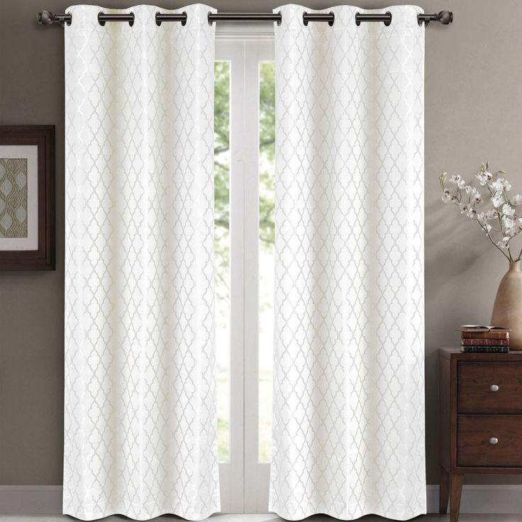63 Long Window Curtains