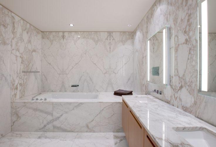 Luxury Bathroom - Marble Walls - Shangri-La Toronto