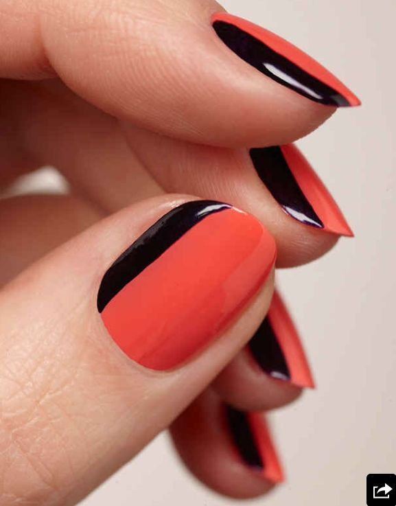 Fantastic Glitter Nail Art Pens Thin All About Nail Art Shaped How To Dry Nail Polish Easy Nail Art For Beginners Step By Step Young Nail Polish And Pregnancy GreenNail Fungus Finger 17 Best Ideas About Two Toned Nails On Pinterest | Fun Lacquer ..